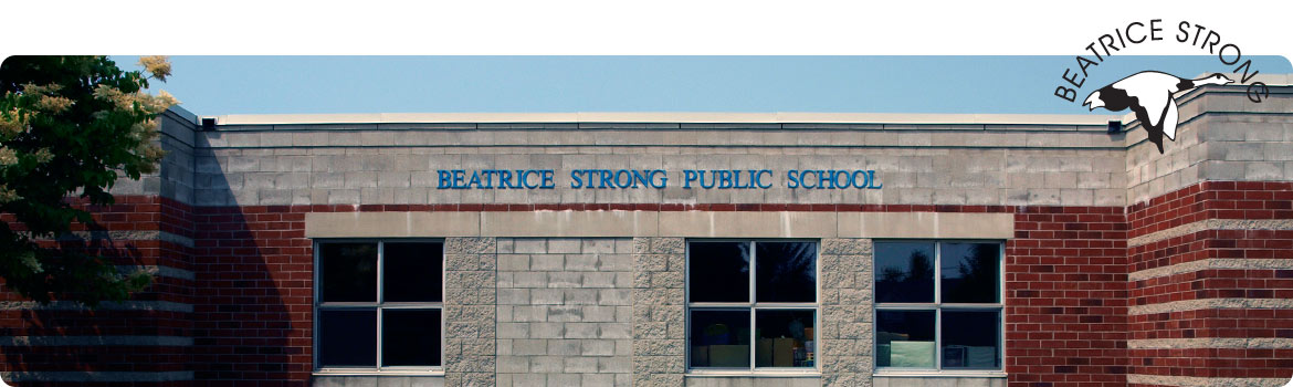 This is a picture of the front of Beatrice Strong P.S.